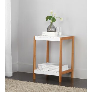 2 Tier Bamboo End Table by Disney