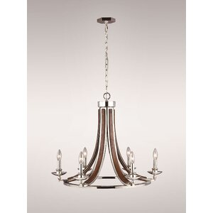 Raquel 6-Light Candle-Style Chandelier