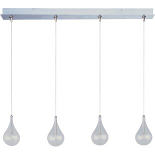 Wrought Studio Abbotstown 4-Light RapidJack Pendant and Canopy