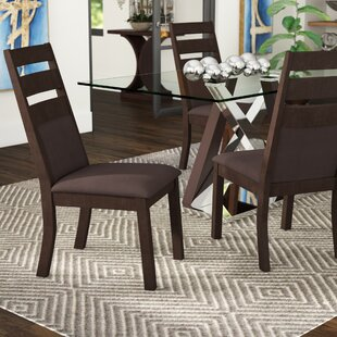 Pereyra Cushioned Ladder Back Side Chair (Set of 2)