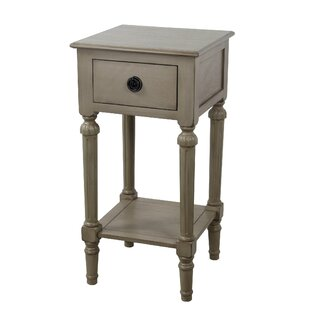 Emblyn 1 Drawer End Table by Ophelia & Co.