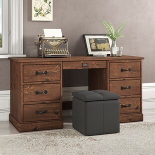 Cerny Executive Desk By Union Rustic