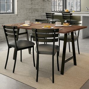 Maya 5 Piece Dining Set by 17 Stories