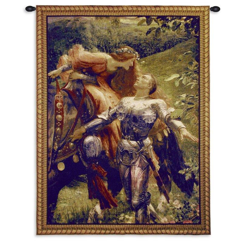 La Belle Dame Sans II BW Small Tapestry