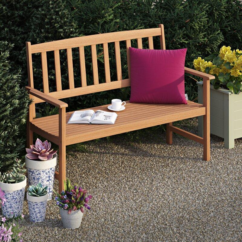 Andover Mills Gartenbank Newbury aus Holz & Bewertungen | Wayfair.de