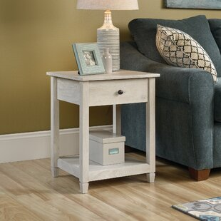 Lamantia End Table with Storage