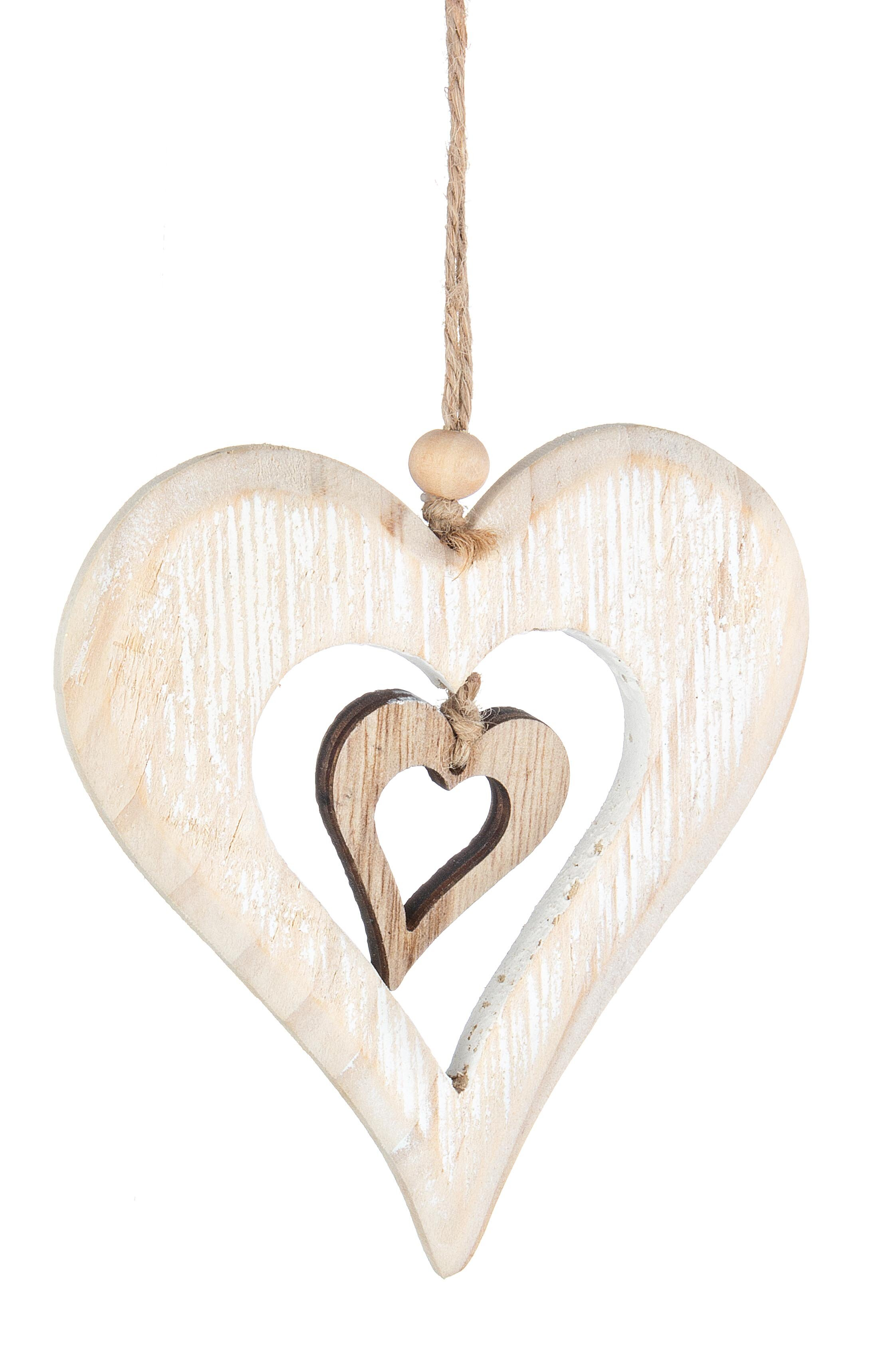 The Seasonal Aisle Allegra Heart Holiday Shaped Ornament