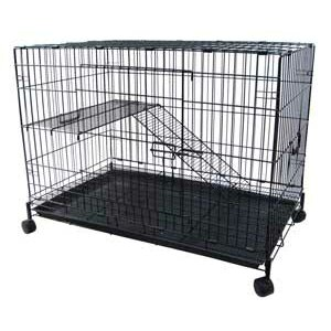 2-Level Small Animal Cage