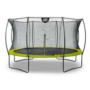 Silhouette 13' Backyard Above Ground Trampoline With Safety Enclosure By Exit Toys