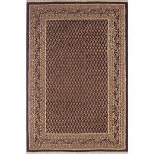 American Home Clic Mir Black Gold Area Rug