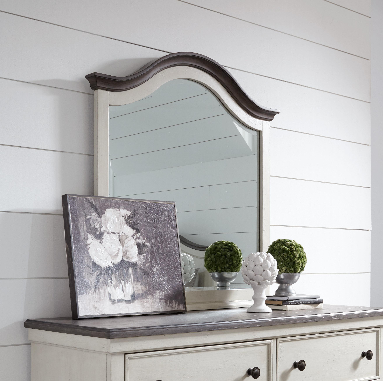 Birch Lane Labelle Arched Modern Beveled Dresser Mirror Wayfair