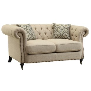 Carleen Transitional Loveseat