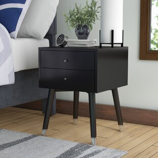 Kraemer 2 Drawer Nightstand Mercury Row Coupon