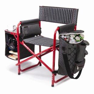 Auriville Folding Director Chair by Freeport Park