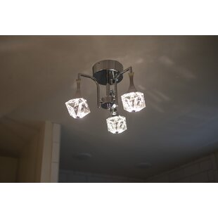 Rosales 3-Light LED Flush ..