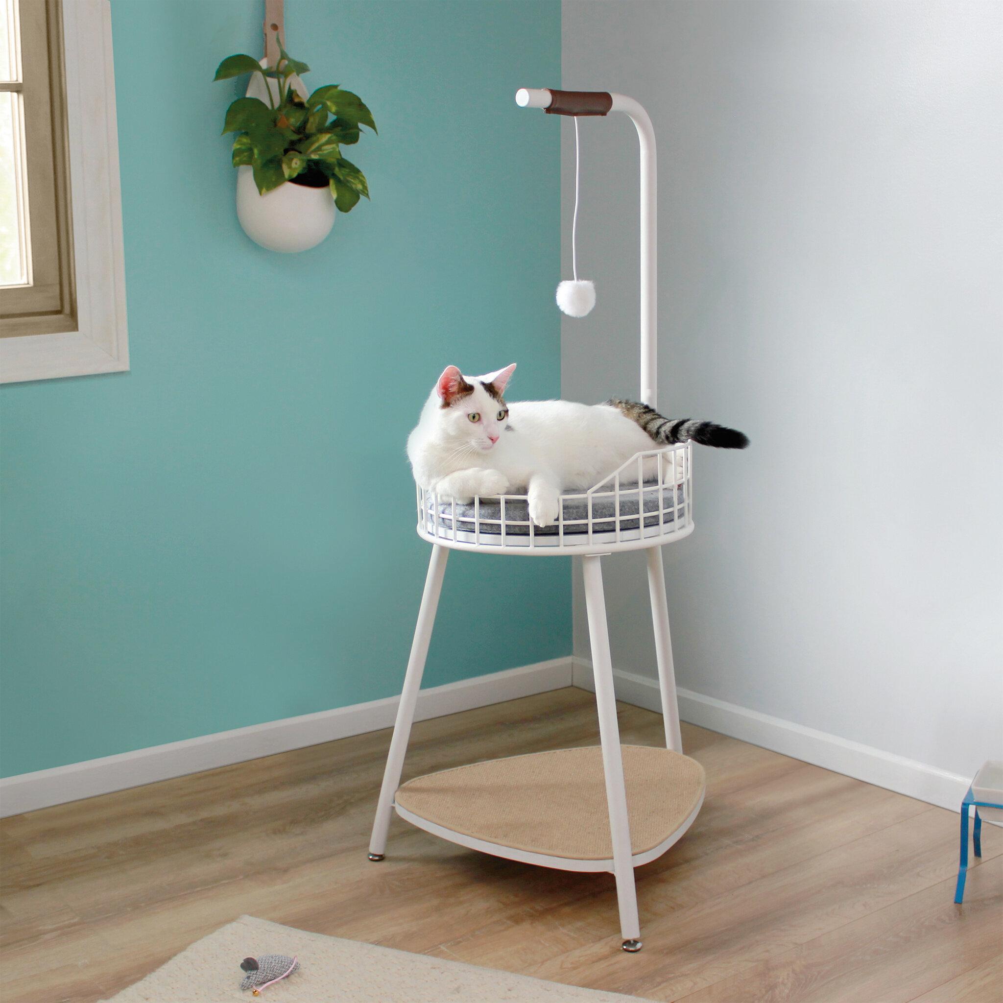 Wrought Studio Lamartine Cat Perch