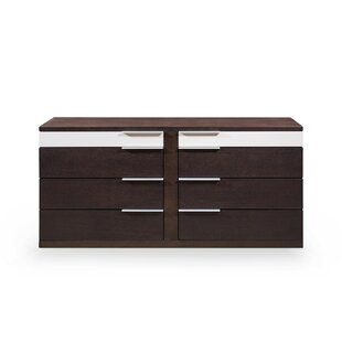 Akridge 8 Drawer Double Dresser