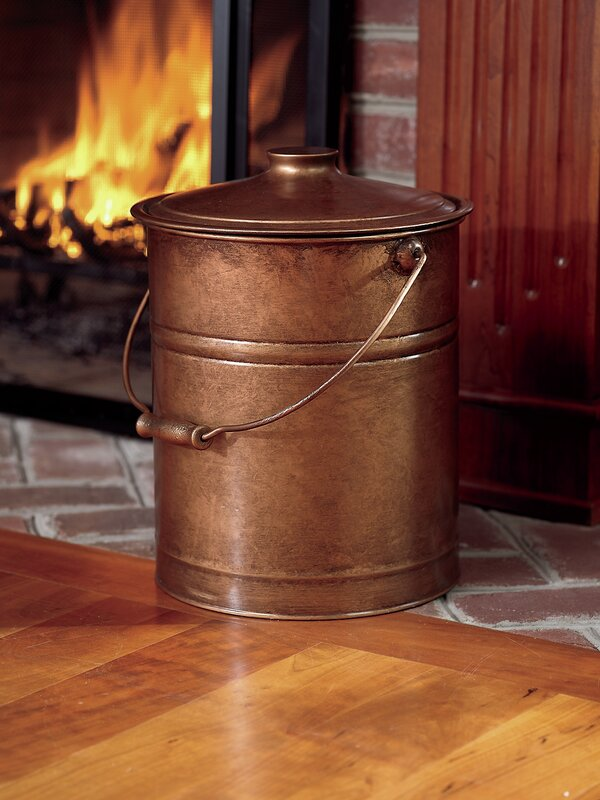 Plow & Hearth Ash Bucket Fireplace Tool & Reviews | Wayfair