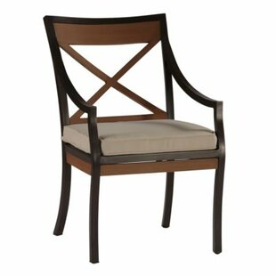 Belize Patio Dining Arm Chair with Cushion