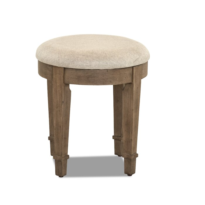 Enjoyable Trisha Yearwood Home Metts Vanity Stool Lamtechconsult Wood Chair Design Ideas Lamtechconsultcom