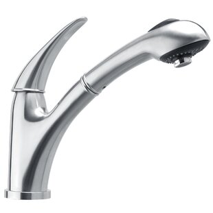 Whitehaus Collection Waterhaus Pull Out Single Handl Kitchen Faucet