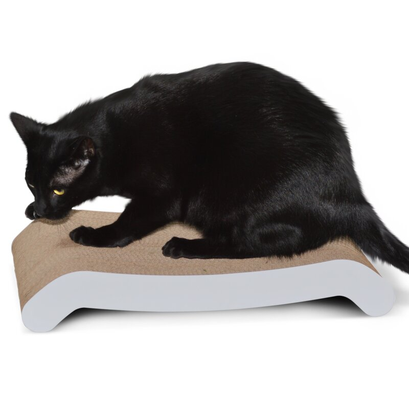 Wide Cat Scratching Board With Catnip Rapid Heat Dissipation Pet Supplies