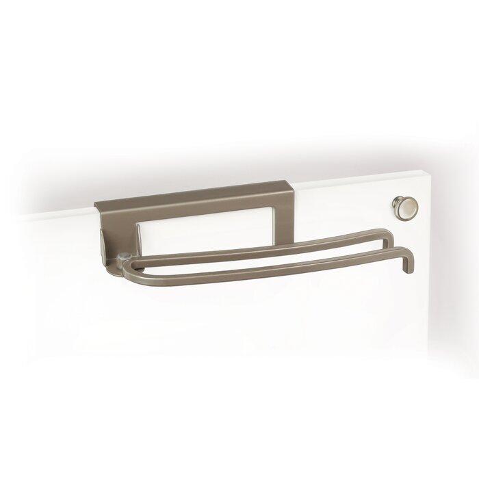 Lynk Over Cabinet Door Pivoting Over-the-Door Towel Bar & Reviews ...