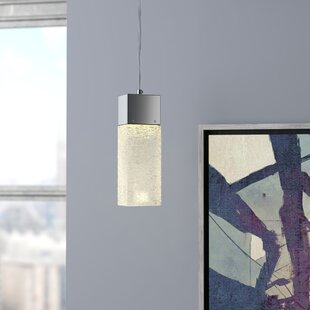 Minard 1-Light Square/Rectangle Pendant by Brayden Studio