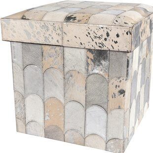 Collapsible Storage Ottoman by Kathy Ireland Home