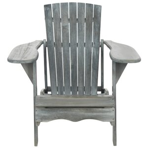 Willingboro Solid Wood Adirondack Chair