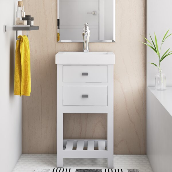 Narrow Depth Bathroom Vanity Wayfair