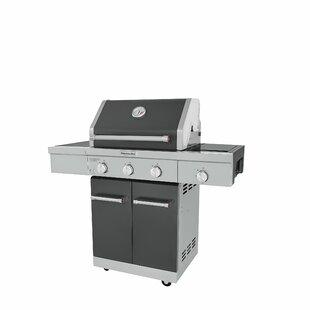 3-Burner Convertible Gas Grill By KitchenAid