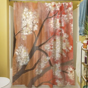 Mandarin Mist I Single Shower Curtain