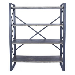 Irwinton 4 Shelf Etagere Bookcase