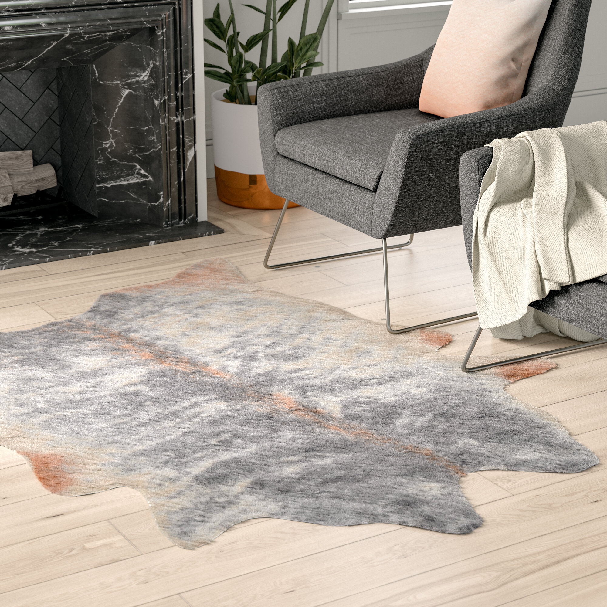 Image result for The Ultimate Natural Rug - The Humble Cowhide