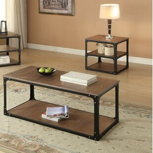 17 Stories Locke 2 Piece Coffee Table Set