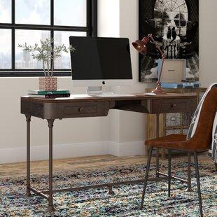 industrial office desk. Kaitlyn Writing Desk Industrial Office