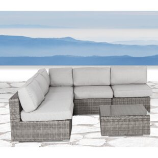Vardin 6 Piece Sectional Set With Cushions by Rosecliff Heights Design