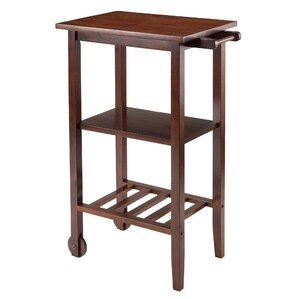 Stevenson Kitchen Cart with Wood Top by Winsome
