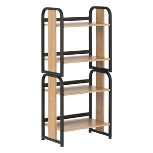 Stackable Standard Bookcase by Symple Stuff Great price