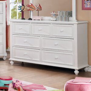 Eliot Traditional 7 Drawer Dresser by Harriet Bee