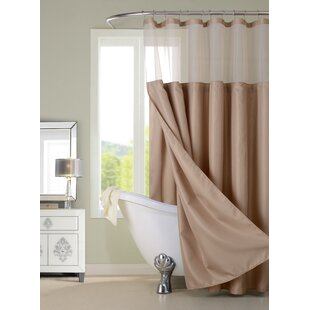Nala Waffle 2 Piece Shower Curtain Set