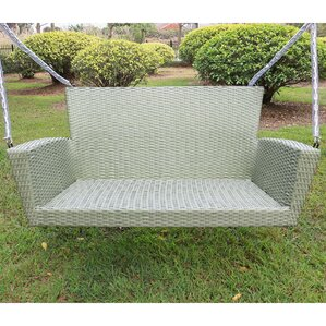 barnet resin wicker porch swing - Wicker Porch Swing