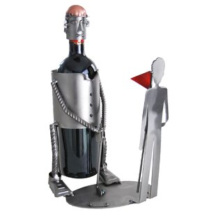 Golf Putting Caddy 1 Bottle Tabletop Wine..