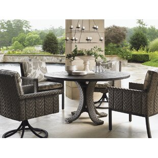 Tommy Bahama Home Blue Olive 5 Piece Dining Set