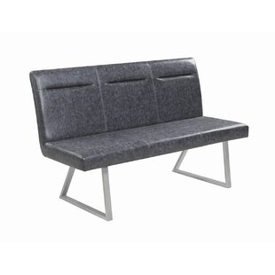 Fernando Faux Leather Bench 2019 Sale