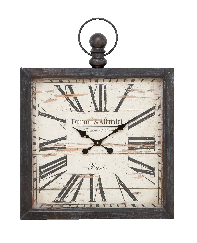 Metal Wall Clock Reviews Joss Main