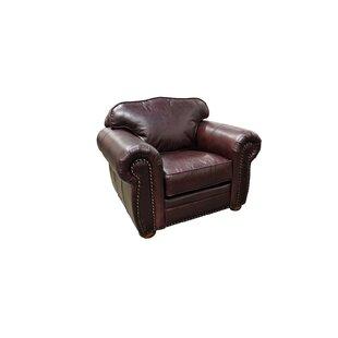 Monte Carlo Leather Club Chair by Omnia L..