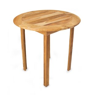 Mcmullan Sierra Round Wood Dining Table by Bloomsbury Market Best