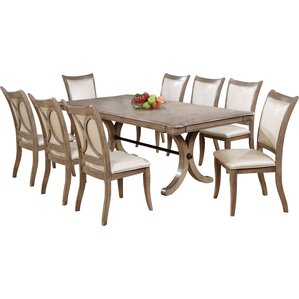Chelsea 9 Piece Dining Set by One Allium Way